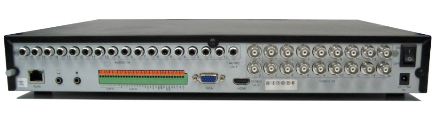 5800 Series Standalone DVR