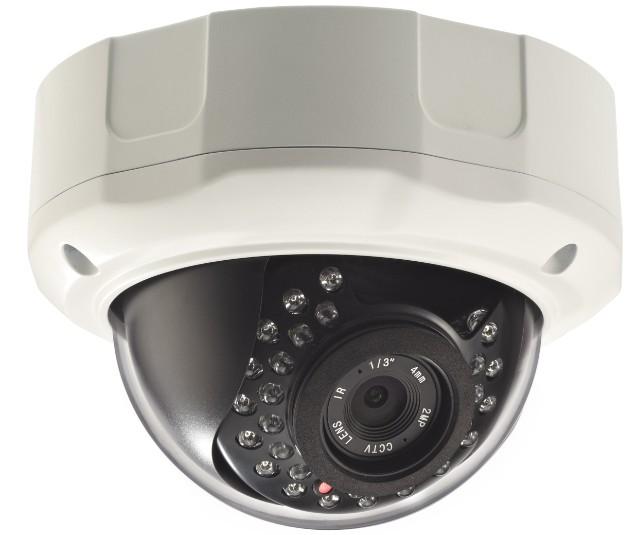 2 Megapixel 1080P Vandal-Dome IP Camera CW-2MDR