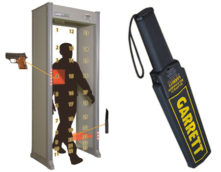 Walk through and hand held Metal Detectors in Ijesha Surulere Lagos Nigeria