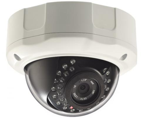 3 Megapixel 1440P Vandal Dome IP Camera with WDR CW-3MDR