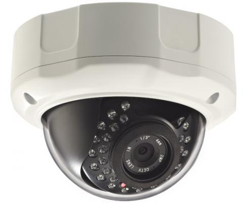 5 Megapixel 1920P Vandal Dome IP Camera CW-5MDR